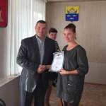 Глава Осташкова Борис Кобзарев поддержал молодых патриотов