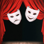 Афиша спектаклей в театральной гостинной