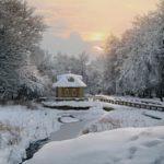 Насельниц занесло снегом