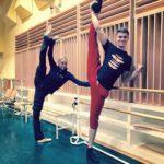 Осташ принят в шоу-балет Анастасии Волочковой