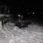 Погиб водитель снегохода