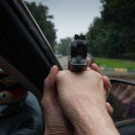 В Осташковском районе стреляли по колесам автомобиля