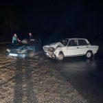 Очередное ДТП - столкнулись два ВАЗа