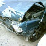 Пьяный водитель на Ауди-80 оказался в кювете со сломаной рукой