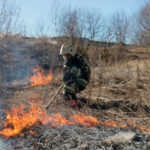 На Селигере введен  особый противопожарный режим