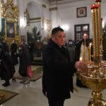 Губернатор Руденя отметил Крещение в Ниловой пустыни