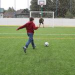 Футбол в дальнем Залучье