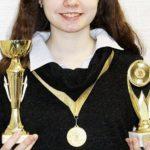 Пеновские школьницы получили медали