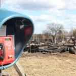 Пожар в деревне Нелегино на Селигере. Верните рынду!