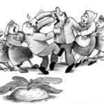 На селигерском острове Городомля Едросы меряются членством