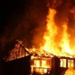 Житель Пено поджог дом, чтобы скрыть убийство сожительницы