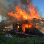 В страшном пожаре в Селижаровском районе погибли четыре человека