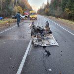 Страшное ДТП на дороге Торжок-Осташков, водитель погиб